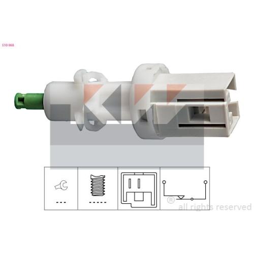 Brake Light Switch KW 510 068 Made in Italy - OE Equivalent ALFA ROMEO CITROËN