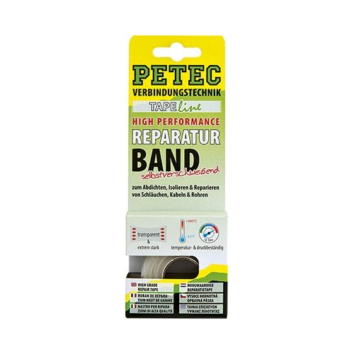 PETEC High Performance Reparaturband selbstverschweißend, 3 m 94903