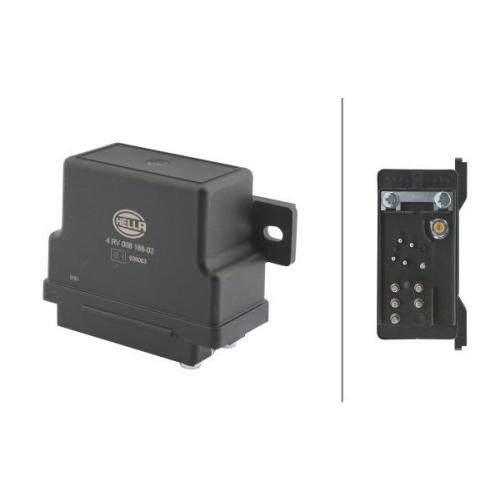 Control Unit, glow plug system HELLA 4RV 008 188-021 KÄSSBOHRER MACK EVOBUS
