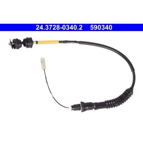 Clutch Cable ATE 24.3728-0340.2 CITROËN FIAT PEUGEOT