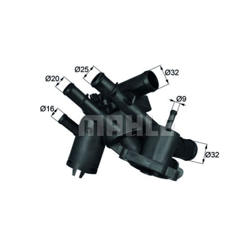 BEHR THERMOT-TRONIK Thermostat, coolant TM 4 109