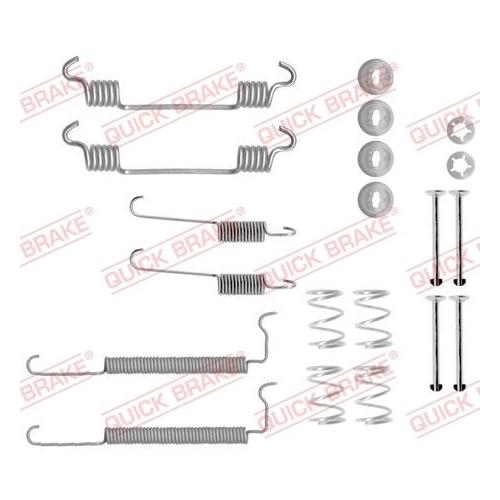 Accessory Kit, brake shoes QUICK BRAKE 105-0710