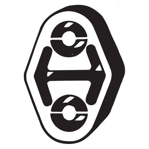 Gummistreifen, Abgasanlage BOSAL 255-085 AUDI
