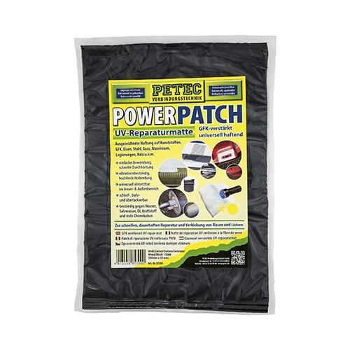 PETEC Power PATCH UV Reparaturmatte 225 x 300 mm 85300