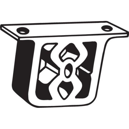 BOSAL Anschlagpuffer, Schalldämpfer 255-054