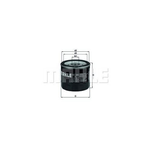 MAHLE ORIGINAL Oil Filter OC 606