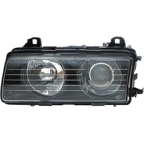 Headlight HELLA 1AL 007 045-021 BMW