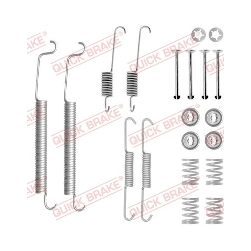 Accessory Kit, brake shoes QUICK BRAKE 105-0756