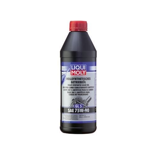 LIQUI MOLY FULLY SYNTHETIC TRANSMISSION OIL (GL5) SAE 75W-90 1 LITER 1414