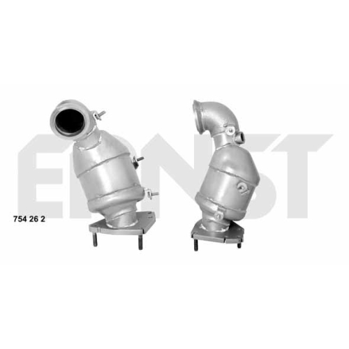 Catalytic Converter ERNST 754262 Set OPEL GENERAL MOTORS