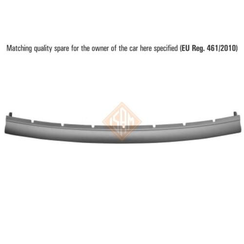 ISAM 1438715 Zier-/Schutzleiste Stoßfänger vorne für Renault Clio III