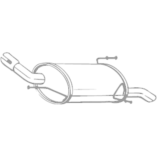 BOSAL End Silencer 185-615
