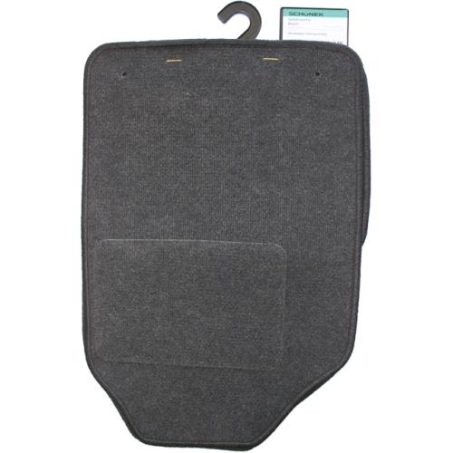SCHOENEK 01260302044 Universal floor mat set Miami, textile, 4 pieces