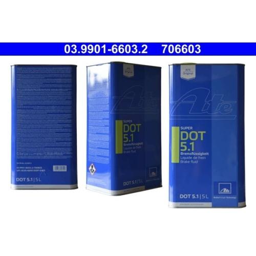 Bremsflüssigkeit ATE 03.9901-6603.2 SUPER DOT 5.1