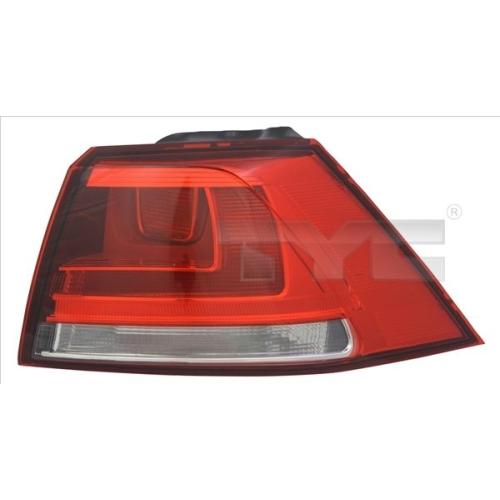 Combination Rearlight TYC 11-12380-01-2 VW
