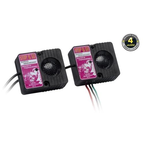 STOP&GO Marderschutz 2 Lautsprecher Ultraschallgerät 07515