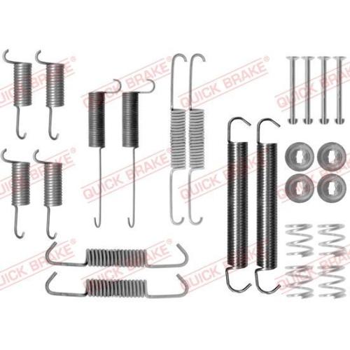 Accessory Kit, brake shoes QUICK BRAKE 105-0712