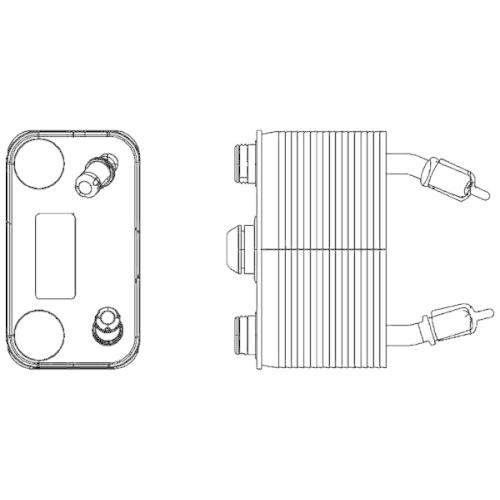 Ölkühler, Automatikgetriebe MAHLE CLC 166 000P BEHR *** PREMIUM LINE *** BMW