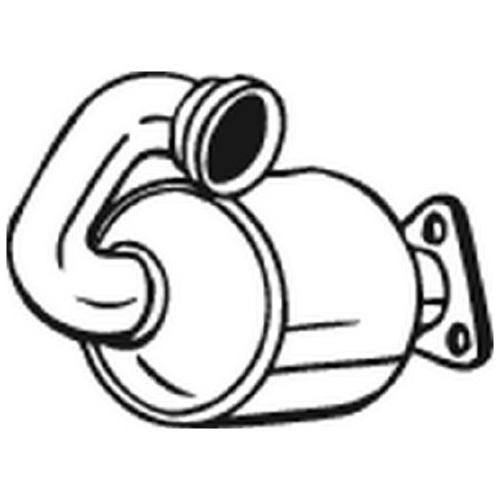 Katalysator BOSAL 090-645 CITROËN FIAT PEUGEOT