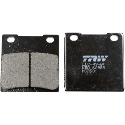 Brake Pad Set, disc brake TRW MCB531 Organic Allround