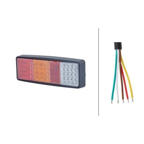 Combination Rearlight HELLA 2VP 357 019-011 HELLA VALUEFIT