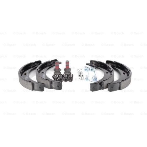 Brake Shoe Set, parking brake BOSCH 0 986 487 543 MERCEDES-BENZ
