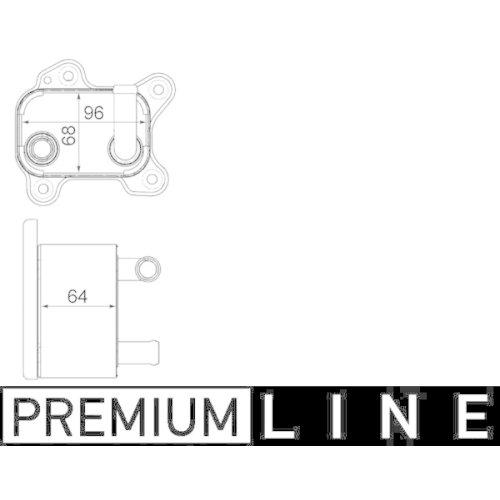 Ölkühler, Automatikgetriebe MAHLE CLC 183 000P BEHR *** PREMIUM LINE *** ISUZU