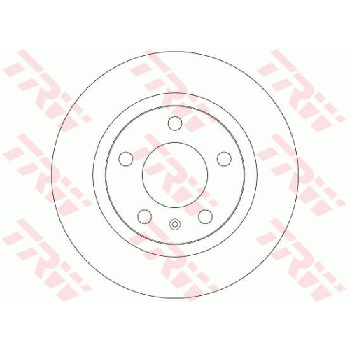 TRW Brake Disc DF6339