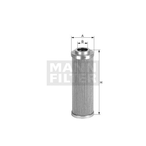 MANN-FILTER Hydraulic Filter, steering system HD 45