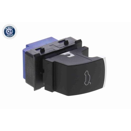 Schalter, Heckklappenentriegelung VEMO V10-73-0437 Q+, Erstausrüsterqualität VAG