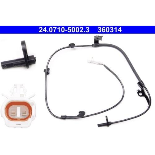 Sensor, wheel speed ATE 24.0710-5002.3 DAIHATSU TOYOTA