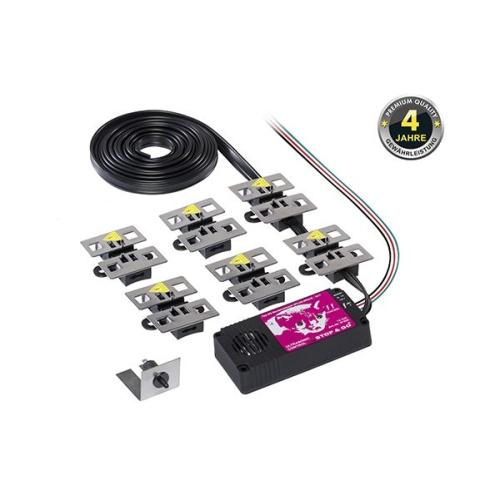 STOP&GO Marderschutz 6 PLUS-MINUS SKT Hochspannungsgerät mit Ultraschall 07508