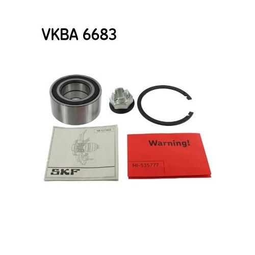 Radlagersatz SKF VKBA 6683 RENAULT