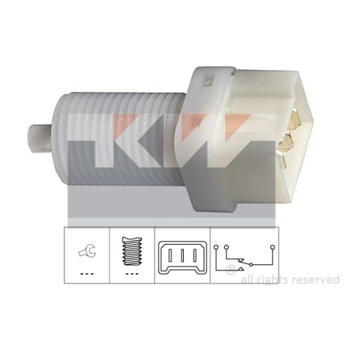 Brake Light Switch KW 510 113 Made in Italy - OE Equivalent RENAULT
