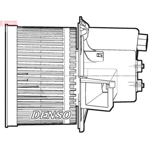 DENSO Interior Blower DEA09064