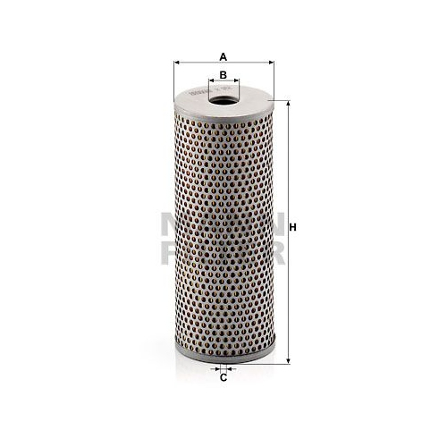 Filter, Arbeitshydraulik MANN-FILTER H 962 SCANIA