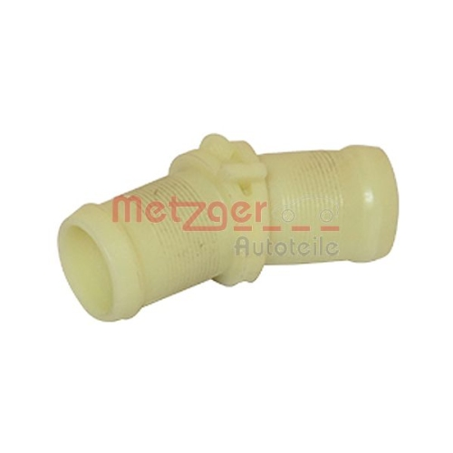 Coolant Tube METZGER 4010169 RENAULT