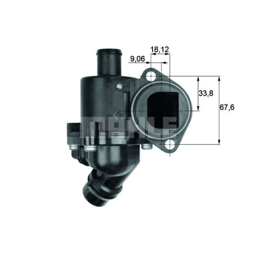 BEHR THERMOT-TRONIK Thermostat, coolant TM 3 100