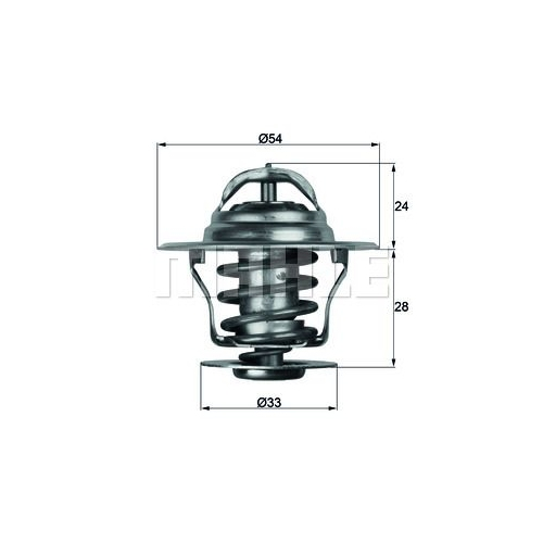Thermostat, coolant BEHR TX 11 92D FORD GMC OPEL VAUXHALL GENERAL MOTORS