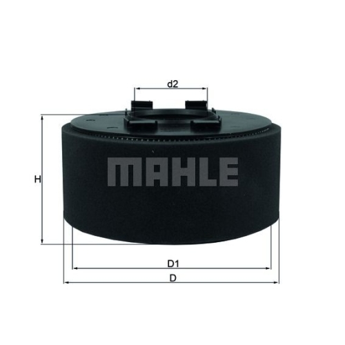 Air Filter MAHLE LX 870 BMW