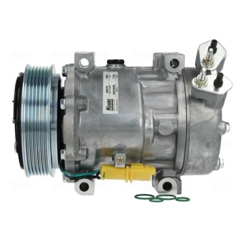 Kompressor, Klimaanlage NISSENS 89076 CITROËN FIAT LANCIA PEUGEOT TOYOTA ABARTH