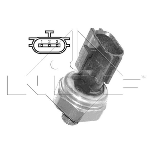 Pressure Switch, air conditioning NRF 38939 EASY FIT NISSAN