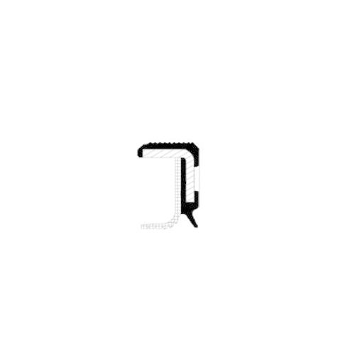 CORTECO Shaft Seal, crankshaft 20026532B