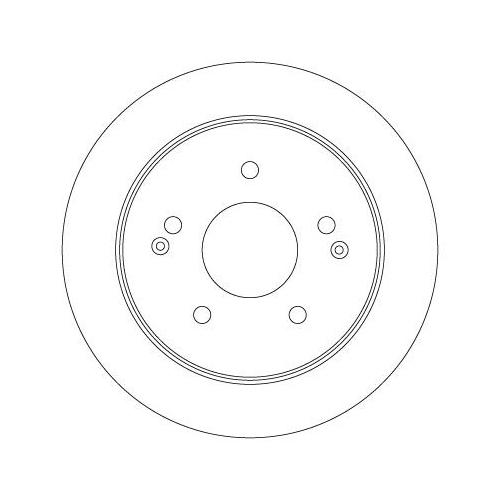 TRW Brake Disc DF6879S