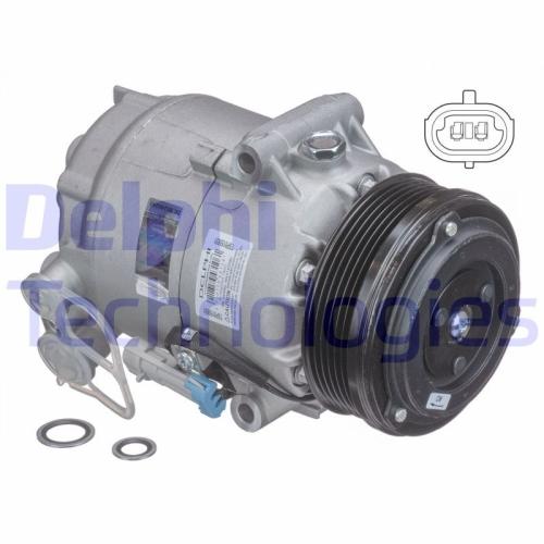 Kompressor, Klimaanlage DELPHI TSP0155931 OPEL VAUXHALL
