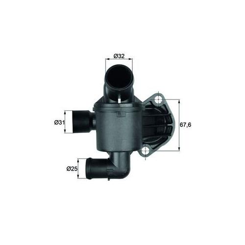 Thermostat, coolant MAHLE TI 35 87 AUDI VAG CUPRA