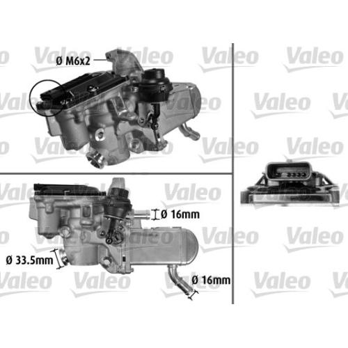 AGR-Modul VALEO 700433 ORIGINAL TEIL RENAULT