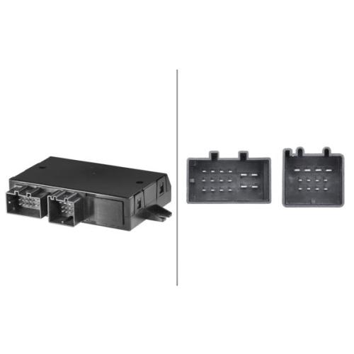 Controller, towbar HELLA 5DS 010 154-321 VW