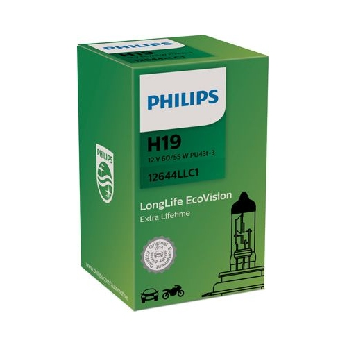 Bulb PHILIPS 12644LLC1 LongLife EcoVision