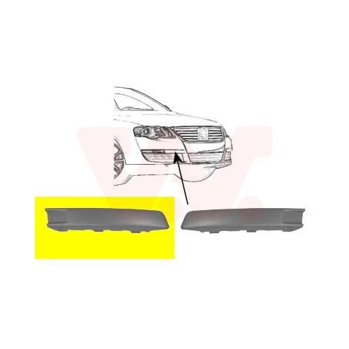 Cover, bumper VAN WEZEL 5839588 ** Equipart ** VW